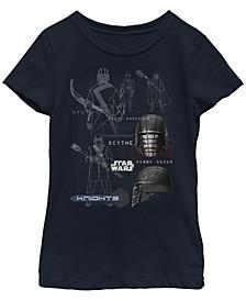 Big Girls First Order Knights Short Sleeve T-Shirt