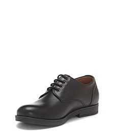 Big Boys Classic Tie Oxford Lace Up Dress Shoe