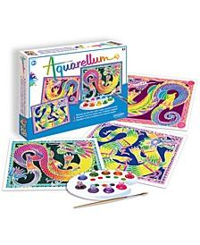 Aquarellum Large - Dragons