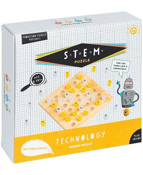 Professor Puzzle Stem Technology - Binary Puzzle