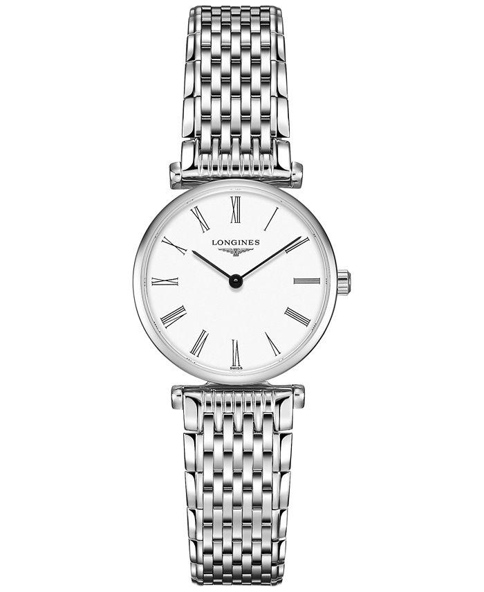 Longines - Women's Swiss La Grande Classique de  Stainless Steel Bracelet Watch 24mm