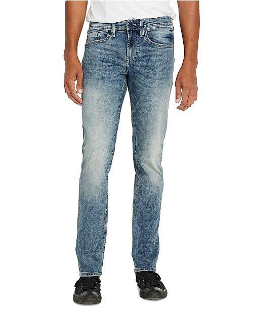Buffalo David Bitton Men's Slim Straight Fit Evan-X Jeans