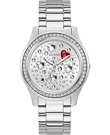 Women's Stainless Steel Bracelet Watch 42mm