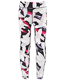 Big Girls Printed 7/8 Caged Leggings, Created for Macy's