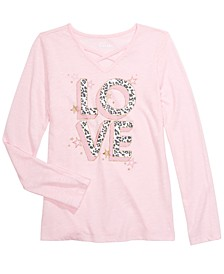 Big Girls Love T-Shirt, Created For Macy's