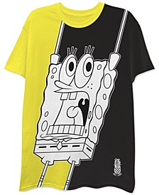 Spongebob Colorblocked Men's Graphic T-Shirt