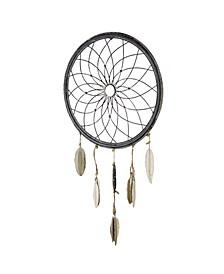 American Art Decor Rustic Dream Catcher Wheel