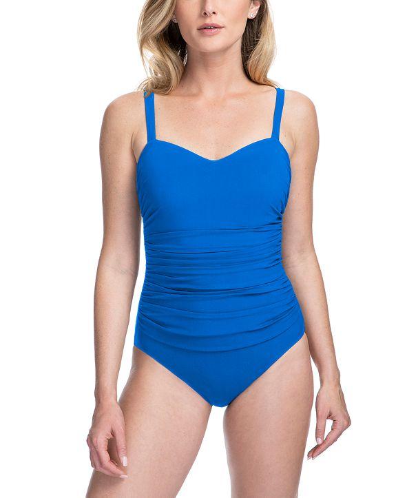 Profile by Gottex Tutti Frutti Underwire Tummy Control One-Piece Swimsuit