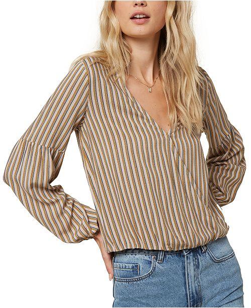 O'Neill Juniors' Dresy Striped Top