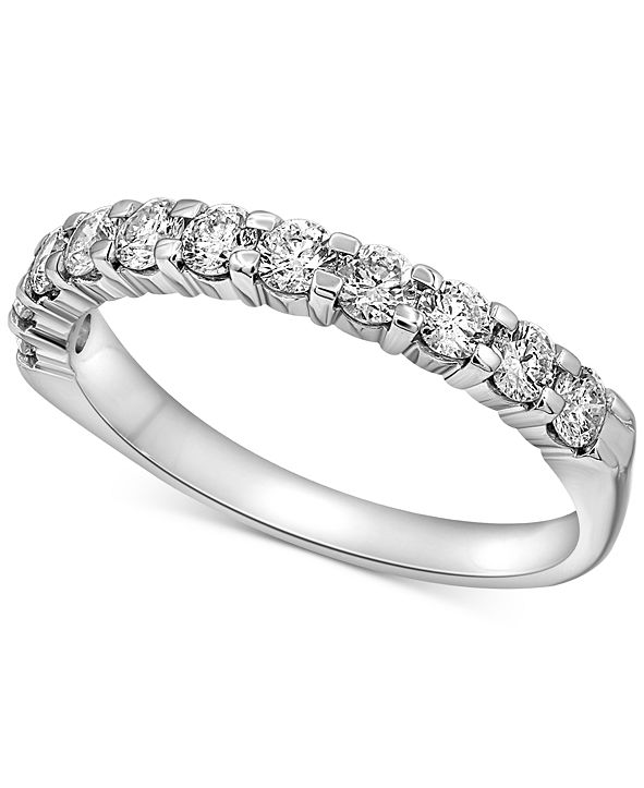 Macy's Diamond Band (1-1/2 ct. t.w.) in 14k White Gold