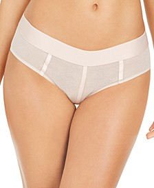 Sheers Mesh-Panel Hipster Underwear DK4942