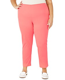 Plus Size Pull-On Skinny Pants, Created for Macy's