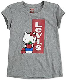 x Hello Kitty Toddler Girls Logo T-Shirt