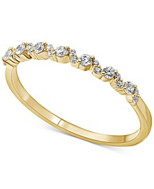 Diamond Stackable Band (1/5 ct. t.w.) in 14k Gold