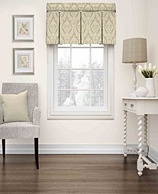 Wavelry Donnington Box Pleat Window Valance
