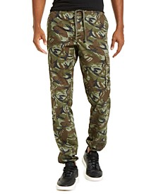 Men's Whitford Camo Hybrid Joggers, Created For Macy's