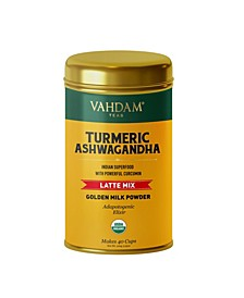 Organic Turmeric Ashwagandha, Superfood Latte Mix 40 Servings
