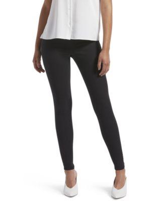 Kendall Kylie Womens Zip Back Denim Leggings