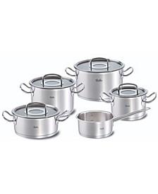 9 Piece Original Profi Collection Cookware Set with Glass Lids