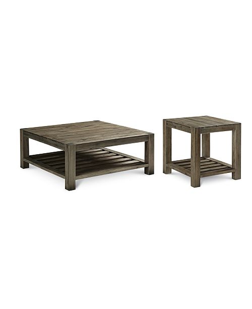 Furniture Canyon 2-Pc. Set (Coffee & End Table), Created for Macy's