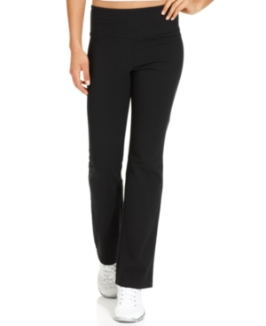 Style & Co Petite Tummy-Control Active Pants, Created for Macy's