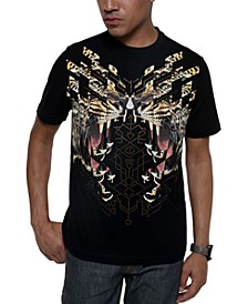 Men's Big and Tall Roaring Fury Tee
