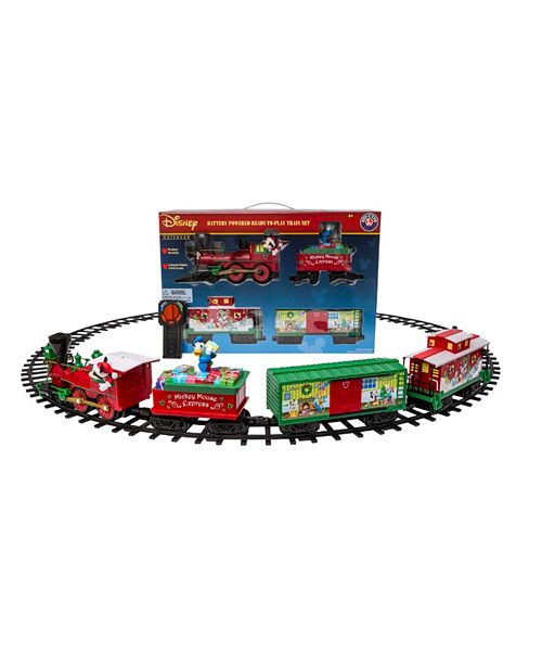 Lionel Mickey Mouse Express Ready to Play Train Set