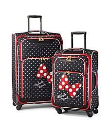 Disney by Minnie Mouse Red Bow Softside Luggage Collection