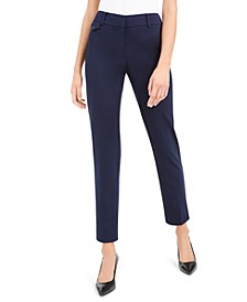 Petite Slim Fit Coin Pocket Pants, Created For Macy's