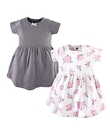 Baby Girl Cotton Dress, 2-Pack