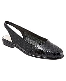 Lucy Sling Back Flats
