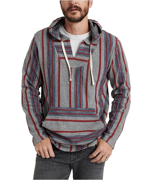 Lucky Brand Men's Striped Baja Hoodie