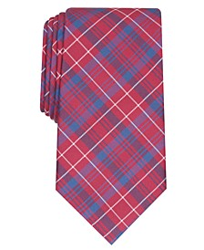 Men's Classic Plaid Tie, Created for Macy's