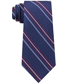Men's Classic Textured Stripe Tie