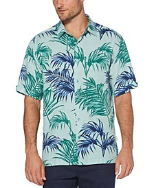 Men's Big & Tall Palm Leaf Shirt