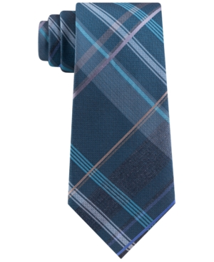 Kenneth Cole Reaction Men's Slim Plaid Tie