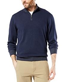 Men's Alpha Quarter-Zip Sweatshirt, Created For Macy's