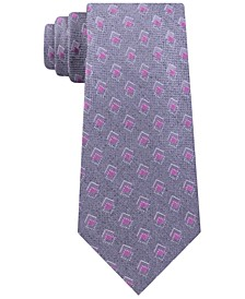 Men's Asymetric Squares Tie