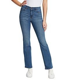 High-Rise Boot-Cut Jeans
