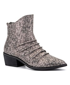 'Take A Bow' Ankle Boots