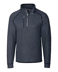Men's Big and Tall Mainsail Half Zip Sweater