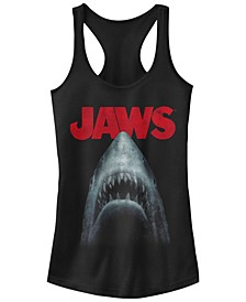 Jaws Shark in Dark Waters Classic Icon Ideal Racer Back Tank