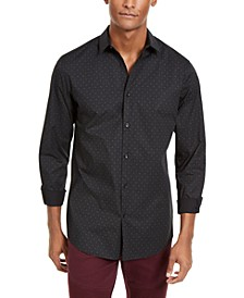 INC Men's Lasko Microdot Shirt, Created for Macy's