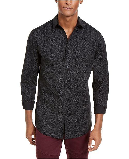 INC International Concepts INC Men's Lasko Microdot Shirt, Created For Macy's