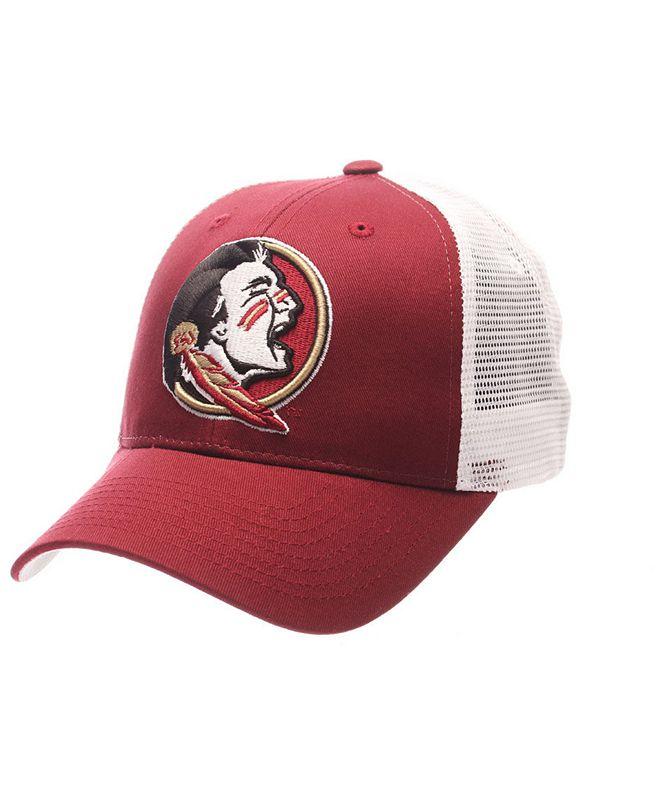Zephyr Florida State Seminoles Big Rig Mesh Snapback Cap