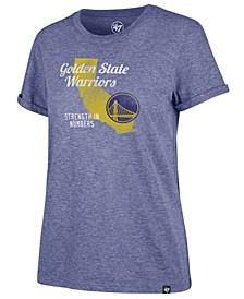 Women's Golden State Warriors Local Match Tri-Blend T-Shirt