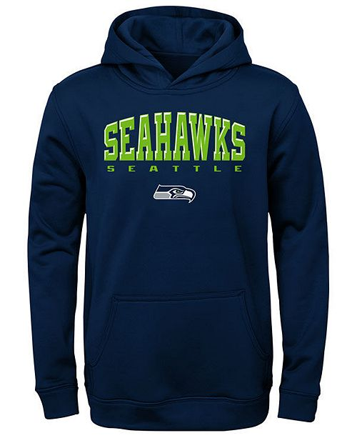 Outerstuff Big Boys Seattle Seahawks Fleece Hoodie