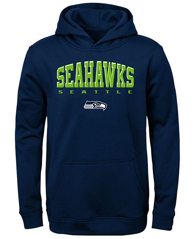 Outerstuff Big Boys Seattle Seahawks Fleece Hoodie