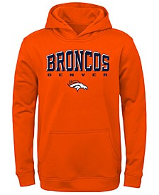 Big Boys Denver Broncos Fleece Hoodie