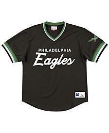 Men's Philadelphia Eagles Special Script Mesh V-Neck Top